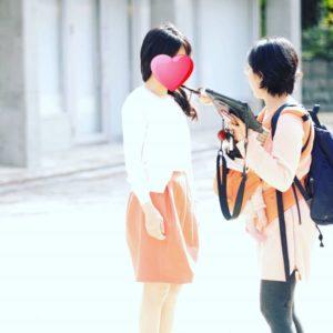 山口の結婚相談所幸せ婚活教室プロフィール写真撮影風景