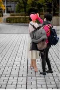 山口の結婚相談所幸せ婚活教室ブログプロフィール写真撮影同行