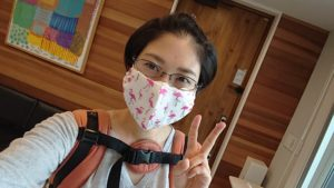 山口の結婚相談所幸せ婚活教室ブログマスク